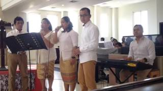 Theresia Quintet - Terimalah Di Hati-mu (vian & Dewi Holy Matrimony)