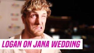 Logan Paul at Jake Paul and Tana Mongeau's Wedding:
