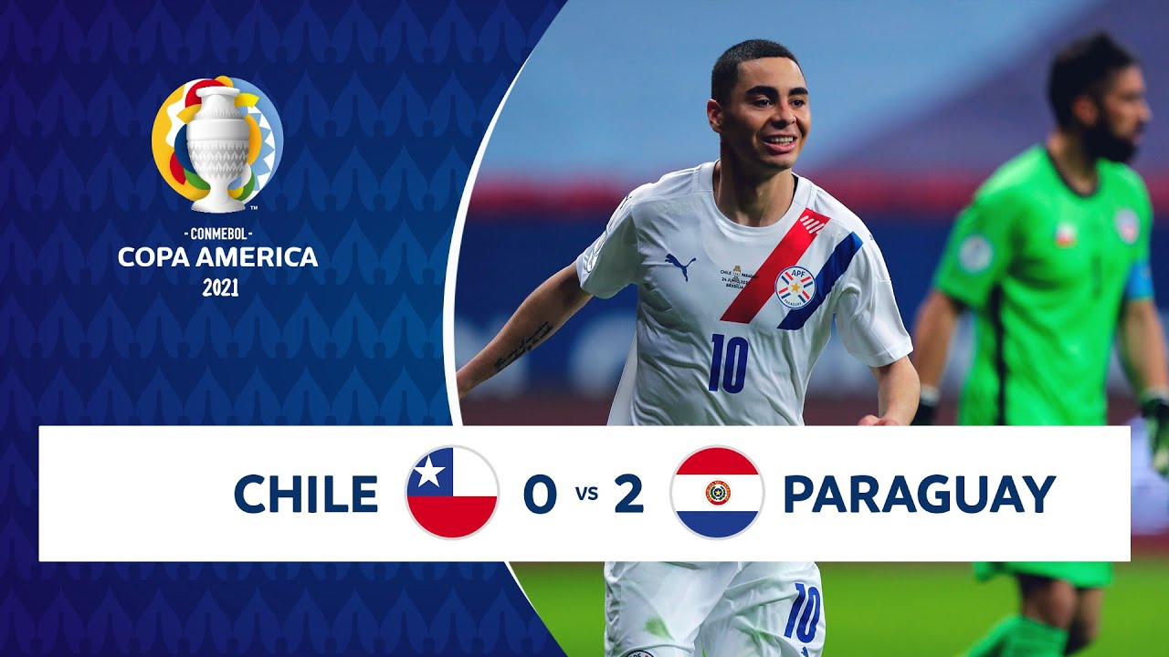 HIGHLIGHTS CHILE 0 - 2 PARAGUAY   COPA AMÉRICA 2021   24-06-21