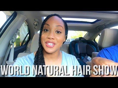 VLOG   WORLD NATURAL HAIR SHOW 2018 ✨