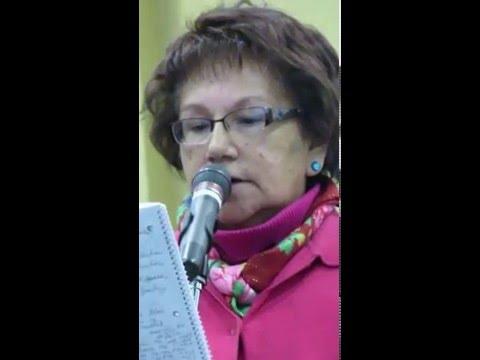 Theodora Bird Bear - testifying at BLM Public Hearing Dickinson ND Mar 3, 2016