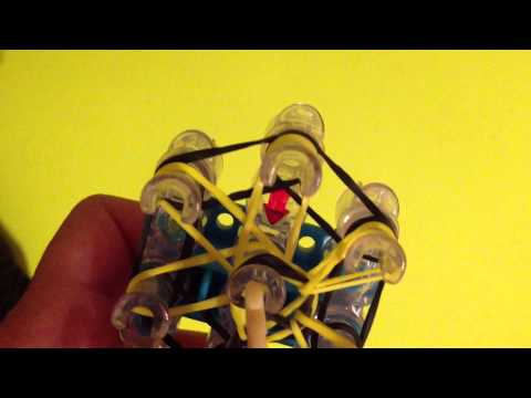 Rainbow Loom: How To Make A Starburst Ring