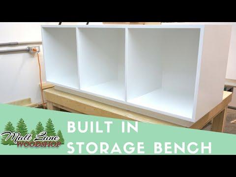 Modern Storage Benches