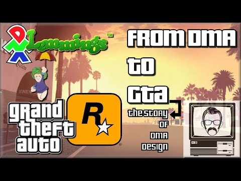 From DMA to GTA: How DMA Design Changed the World | Nostalgia Nerd