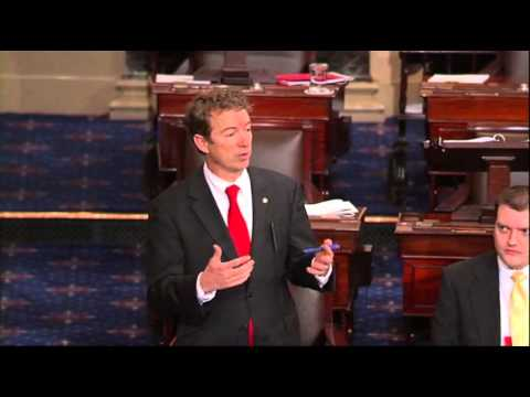 Senator Rand Paul Ends Filibuster