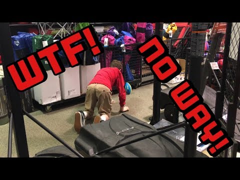 KID GOES INSANE!!! GETS KICKED OUT OF 2 STORES IN ONE DAY!!!