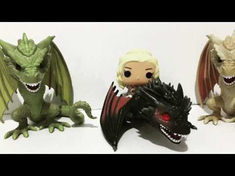 Funko Pop Game of Thrones Dragons Quick Unboxing and Review