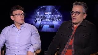 AVENGERS ENDGAME Anthony and Joe Russo Interview