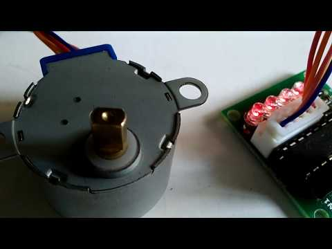Stepper Motor Interfacing with PIC16F877A Microcontroller
