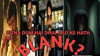Blank Trailer Public Review #sunnydeol #karankapadia #dimplekapadia #action #ghayal #jeet #gadar