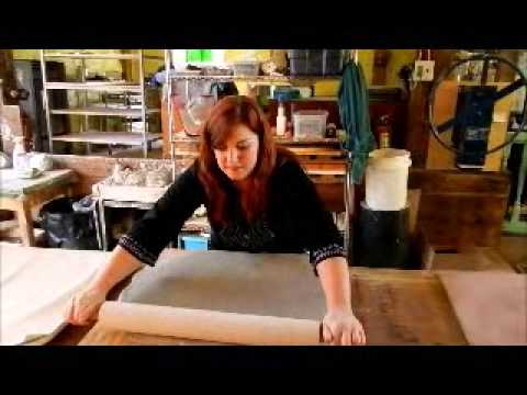 Clay Decor Tile Making Demo Part I