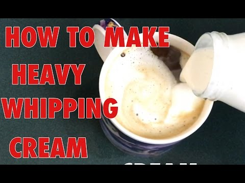 HOMEMADE HEAVY WHIPPING CREAM