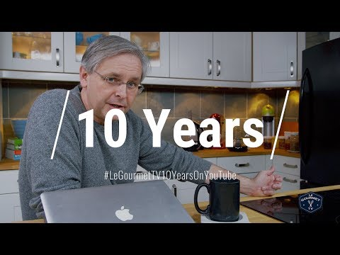 10 Years On YouTube!! + Announcements || Vlog || Le Gourmet TV Recipes