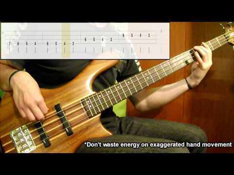 Lesson #1: Warm Up Session Lvl.1 (Bass Exercise) (Play Along Tabs In Video)