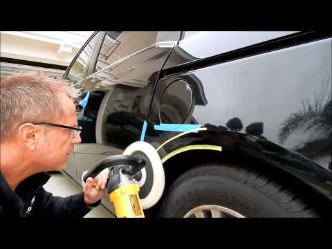 Car Paint Scratch Repair: Straight talk from the professional