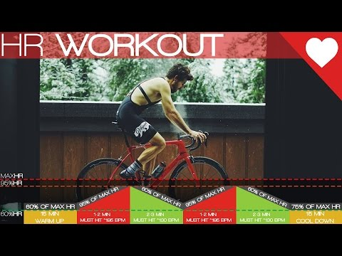 (HIIT) Heart Rate Only Cycling Workout - Cycling Tips