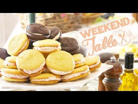 好きなクリームをはさむウーピーパイ - WHOOPIE PIES - 【WEEKEND TABLE】