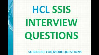 SSIS Interview Questions Answers   What are different types of SSIS