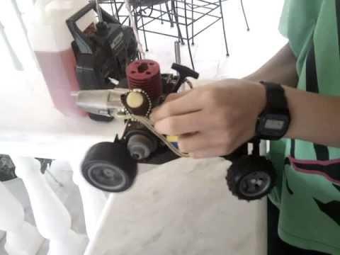 rc nitro car (homemade)