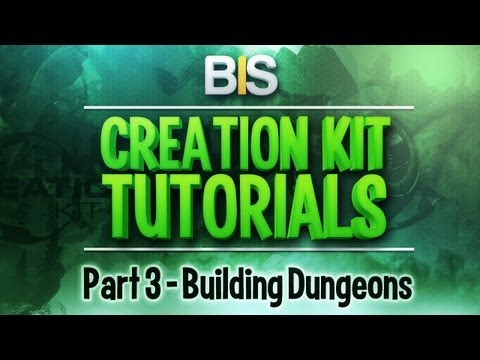 Skyrim Creation Kit Tutorials - Episode 3: Building A Dungeon