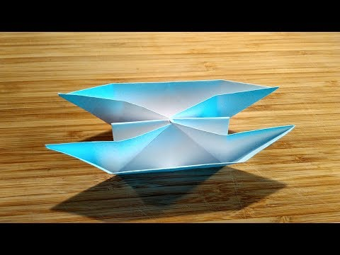 How to make a Twin Boat using paper / Twin boat origami