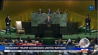 PRESIDENT TRUMP SPEECH TO UN GENERAL ASSEMBLY 9/19/17 FULL SPEECH