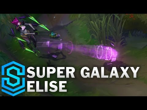Super Galaxy Elise Skin Spotlight - Pre-Release - League of Legends