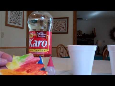 Glossy Corn Syrup Paint in Preschool Art and also to Paint Sugar Cookies