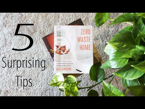 5 LIFE HACKS FROM ZERO WASTE HOME by BEA JOHNSON