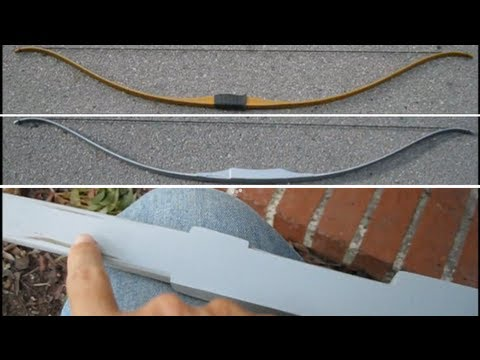 Hunger Games BOW tutorial: Part 1 of 2 (Shaping the handle)