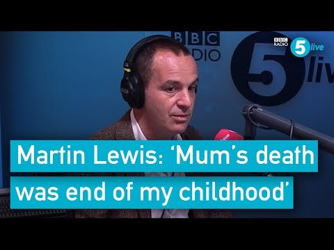 Martin Lewis: 'Death of my mum was the end of my childhood'