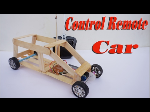 How To Make Toy Car Control Remote DIY - Powered Car From Wooden Very  Simple