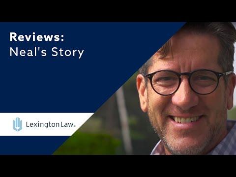 Neal's Credit Score Renewal Testimonial | Lexington Law
