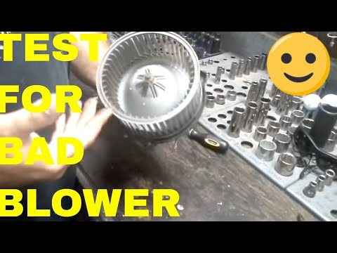 Test Blower Fan Motor and Explain How Brushes Go Bad