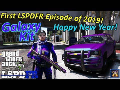 Galaxy Everything Kit - First LSPDFR Patrol of 2019 | GTA 5 LSPDFR Episode 316