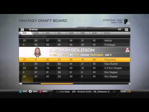 Madden 25: CC Coach: Fantasy Team- Carolina Panthers (The Best Drafted Team Ever)