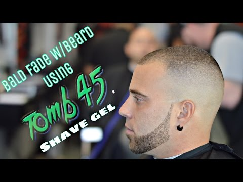 How To Cut Hair | High Bald Fade | Using Tomb45 Shave Gel