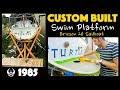Custom Built Swim Platform for a 1985 Ericson 26 Sailboat