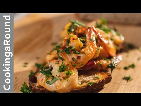 Buttered Garlic Shrimp Recipe