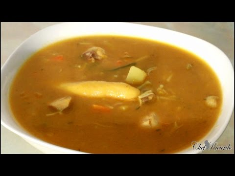 Jamaican Chicken Soup Recipe Video The Best in World