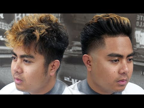 HAIRCUT TRANSFORMATION: HOW TO DO A HIGH TAPER FADE || HAIRCUT TUTORIAL FOR BEGINNERS