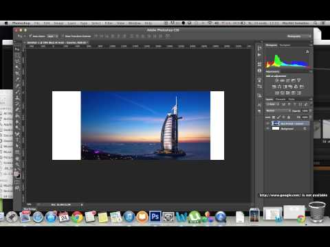 How to use Content Aware Scale tool or stretch an image without distorting some areas.