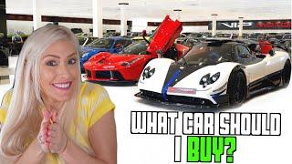 I'm shopping for a supercar in Dubai!
