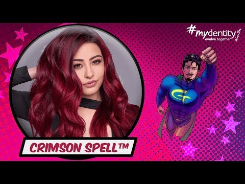 Crimson Spell Deep Red Hair Color