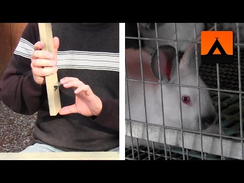 How to make a frame kit for a rabbit cage - improved design