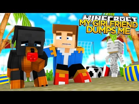 Minecraft - MY GIRLFRIEND DUMPS ME w/Little Donny - Little Baby Max