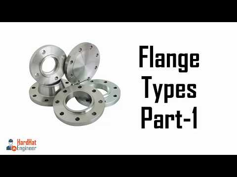 Flanges Types Different Types of Pipe Flanges Part -1