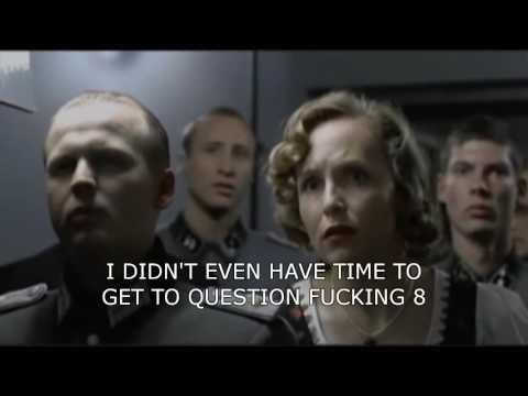 Hitler reacts to AQA Core 4 Maths 2016