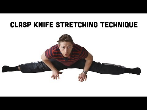 Fastest Way to Learn Splits?    Claspknife Stretching Technique