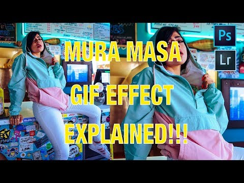 How To Make The Mura Masa Gif Effect